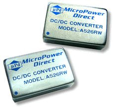 A514RW | DC/DC | Ein: 18-36 V DC | Aus: 15 V DC | MicroPower Direct