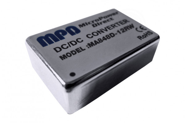 MA812S-12RW | DC/DC | Ein: 9-18 V DC | Aus: 12 V DC | MicroPower Direct