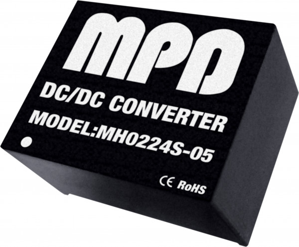 MH0224S-12(I) | DC/DC | Ein: 24 V DC | Aus: 12 V DC | MicroPower Direct
