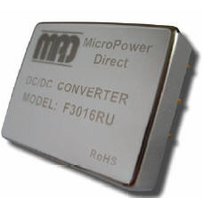 F3003RU | DC/DC | Ein: 10-40 V DC | Aus: 5 V DC | MicroPower Direct