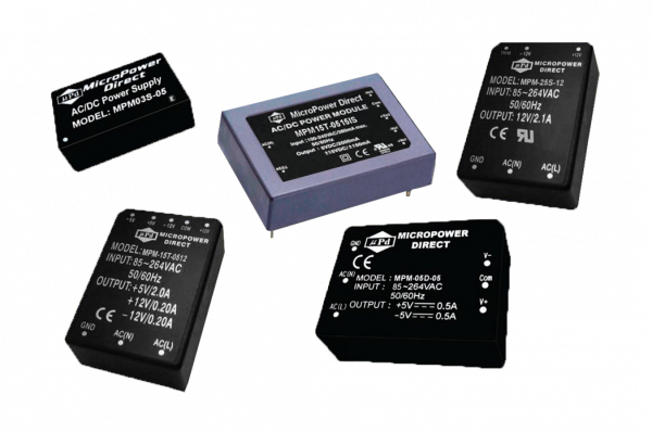 MPM-15D-15IS | AC/DC | Aus: 15 V DC|-15 V DC | MicroPower Direct